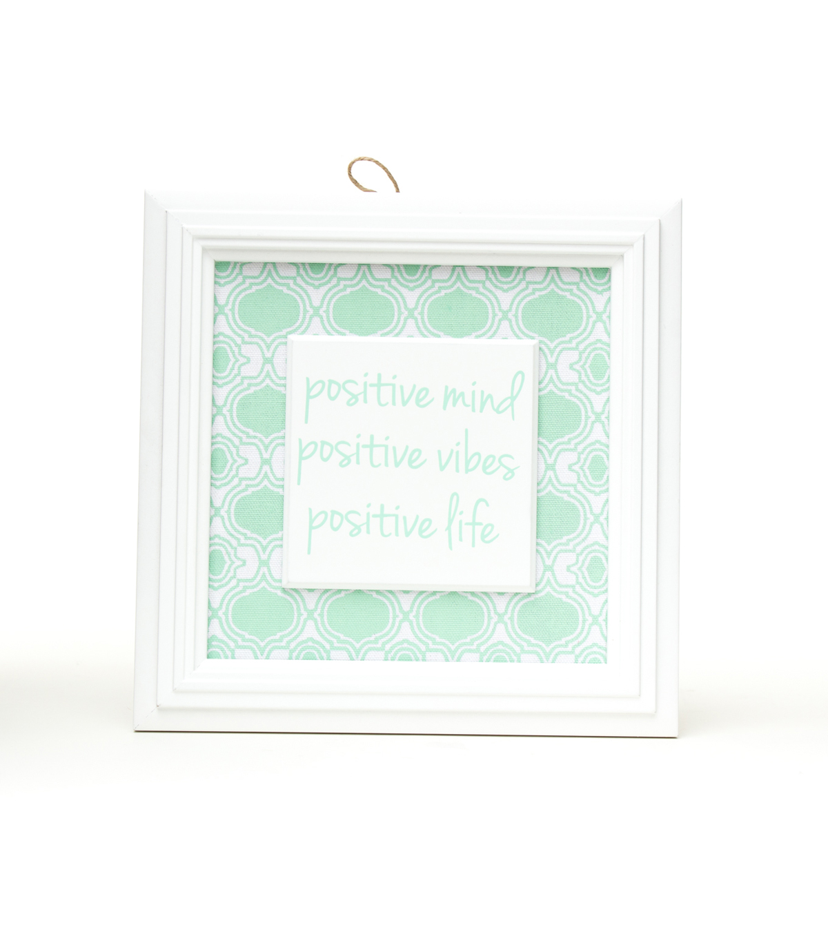 In The Garden Wall Decor-Positive Mind Positive Vibes Life