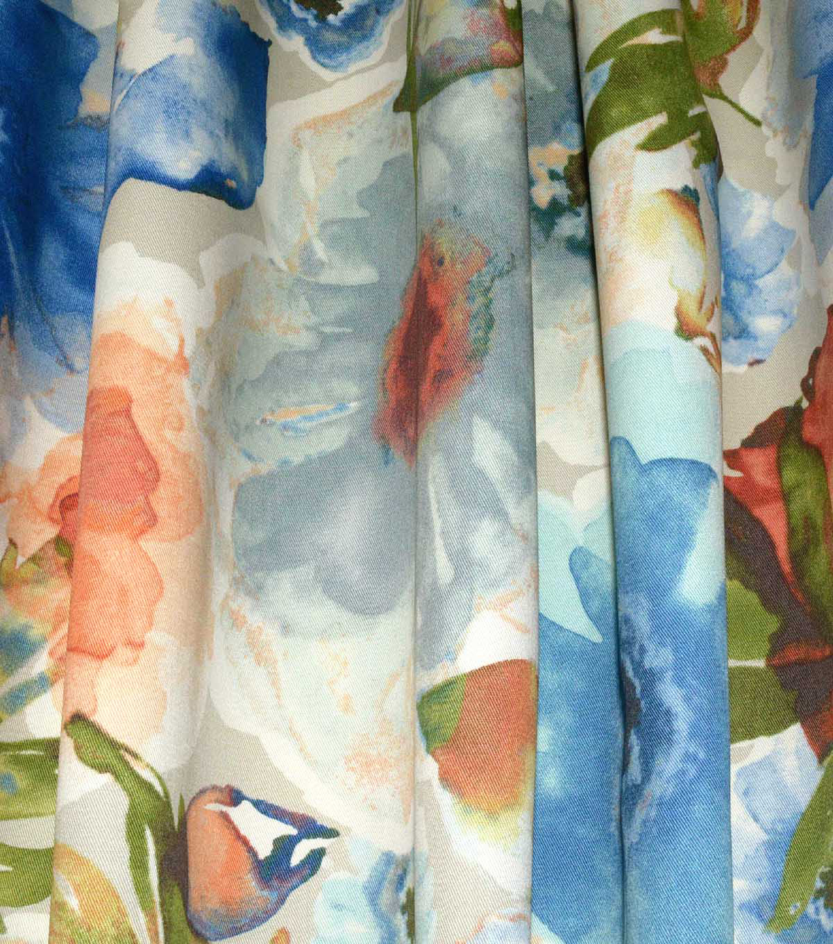 Upholstery Fabric 54\u0022-Petal Press Ocean