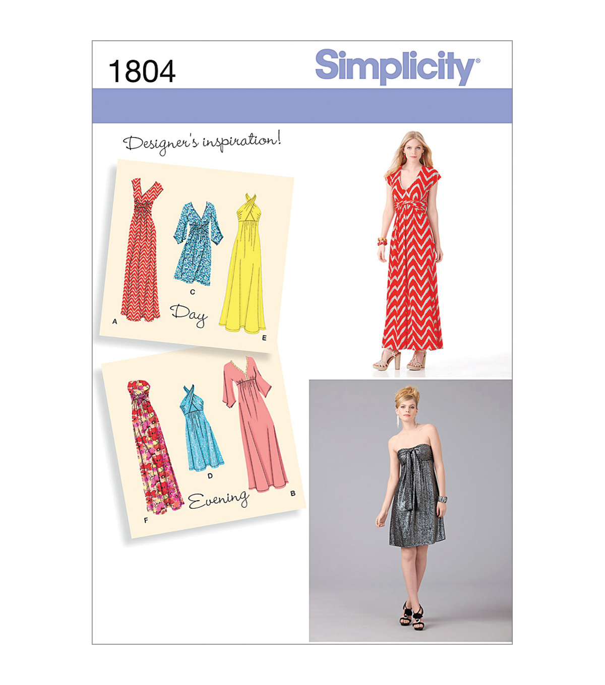 Simplicity Patterns Us1804H5-Simplicity Misses Special Occasion-6-8-10-12-14