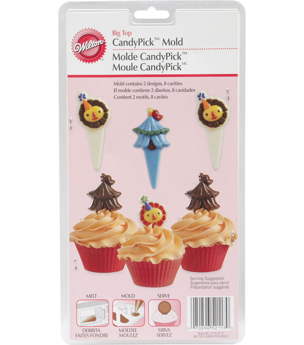 Wilton® Candy Picks Mold-Big Top