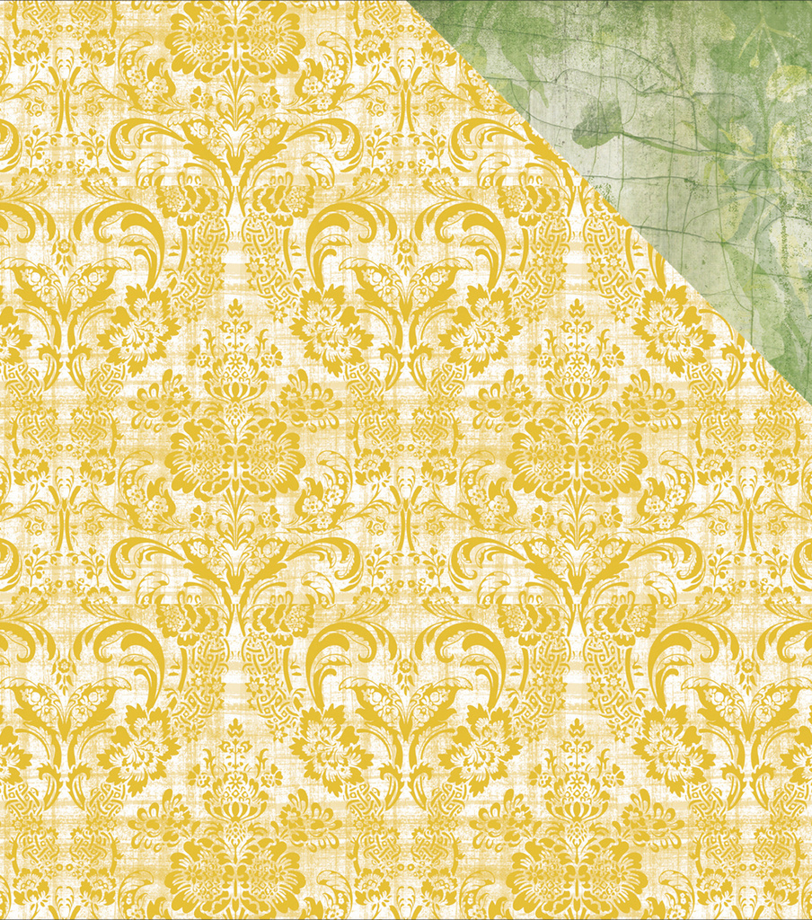 "Golden Grove Double-Sided Cardstock 12""X12""-Greenery"