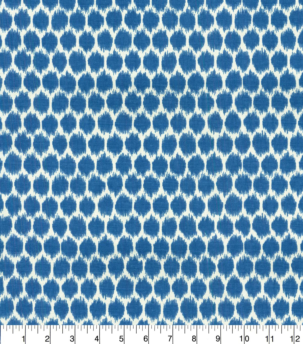 Waverly Upholstery Fabric 54''-Bluebell Seeing Spots