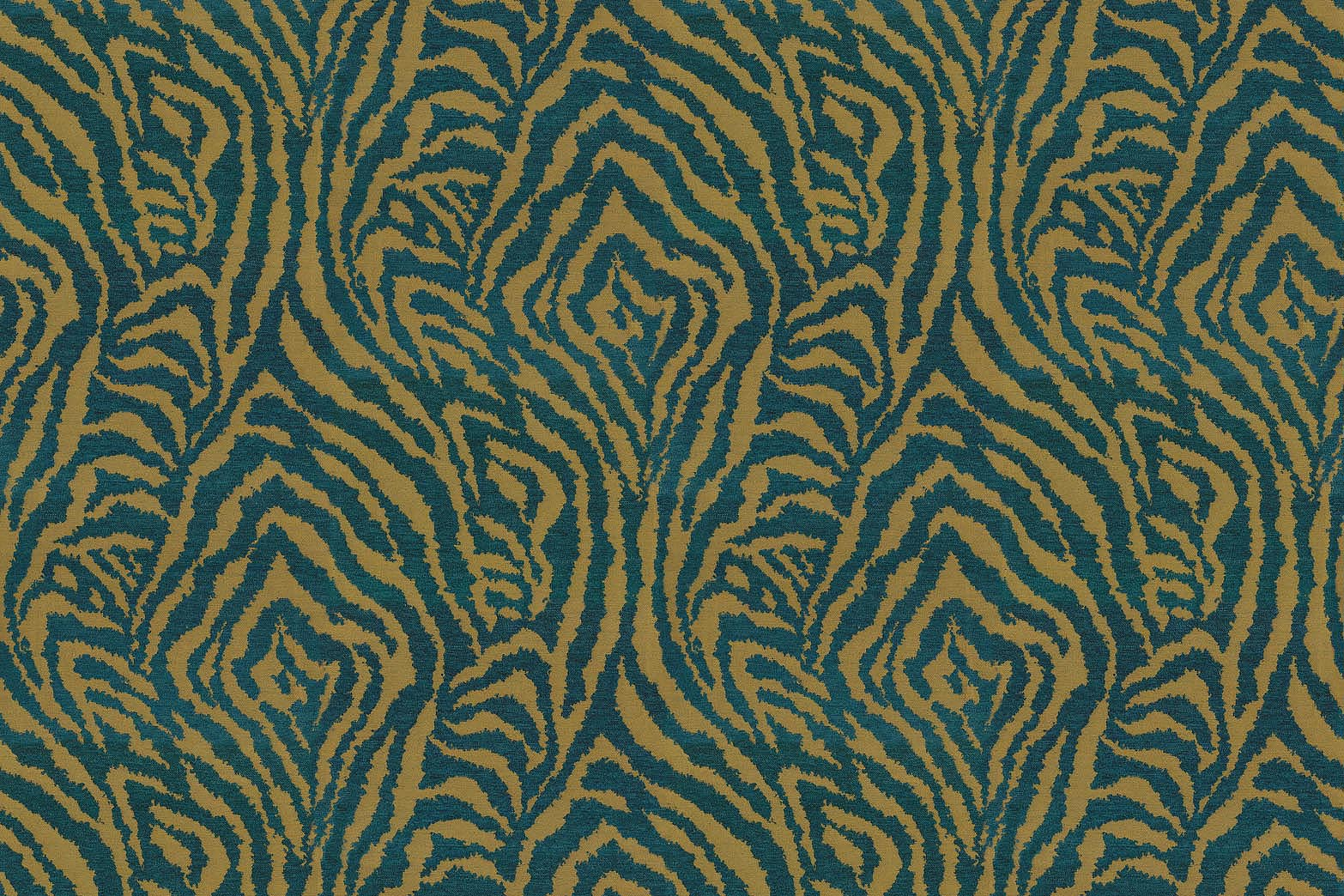 Home Decor 8\u0022x8\u0022 Fabric Swatch-IMAN Zebra Oasis Cypress