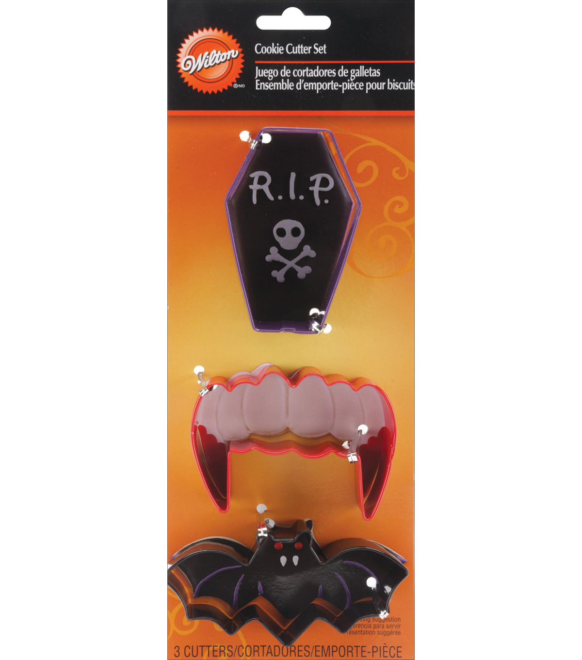 Wilton® Cookie Cutter Set 3/Pkg-Vampire