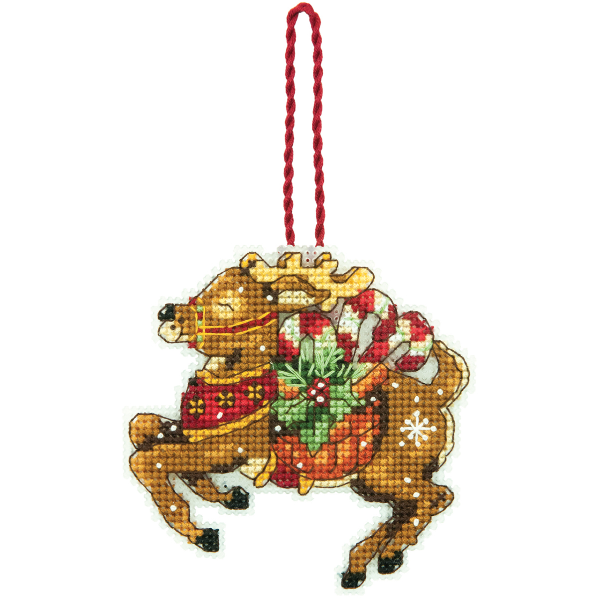 Dimensions Ornament Counted Cross Stitch Kit Reindeer
