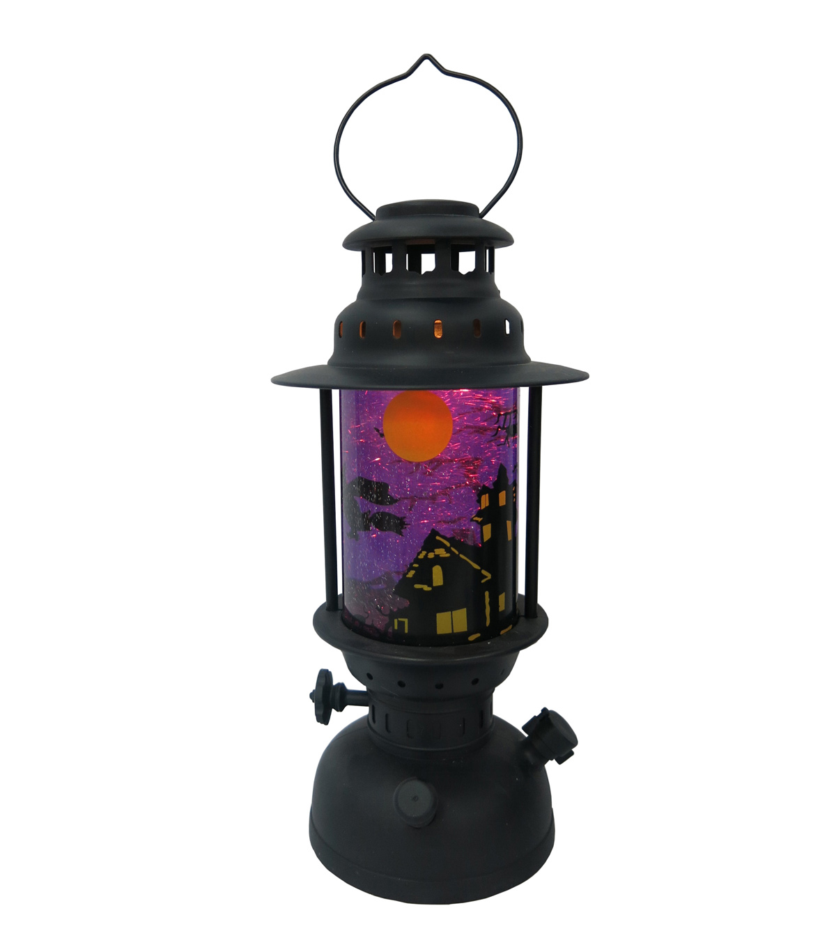 Maker's Halloween LED Lantern-Purple