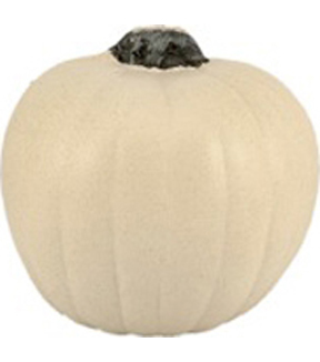 Maker\u0027s Halloween Funkins Carvable Pumpkin White 5.5\u0027\u0027
