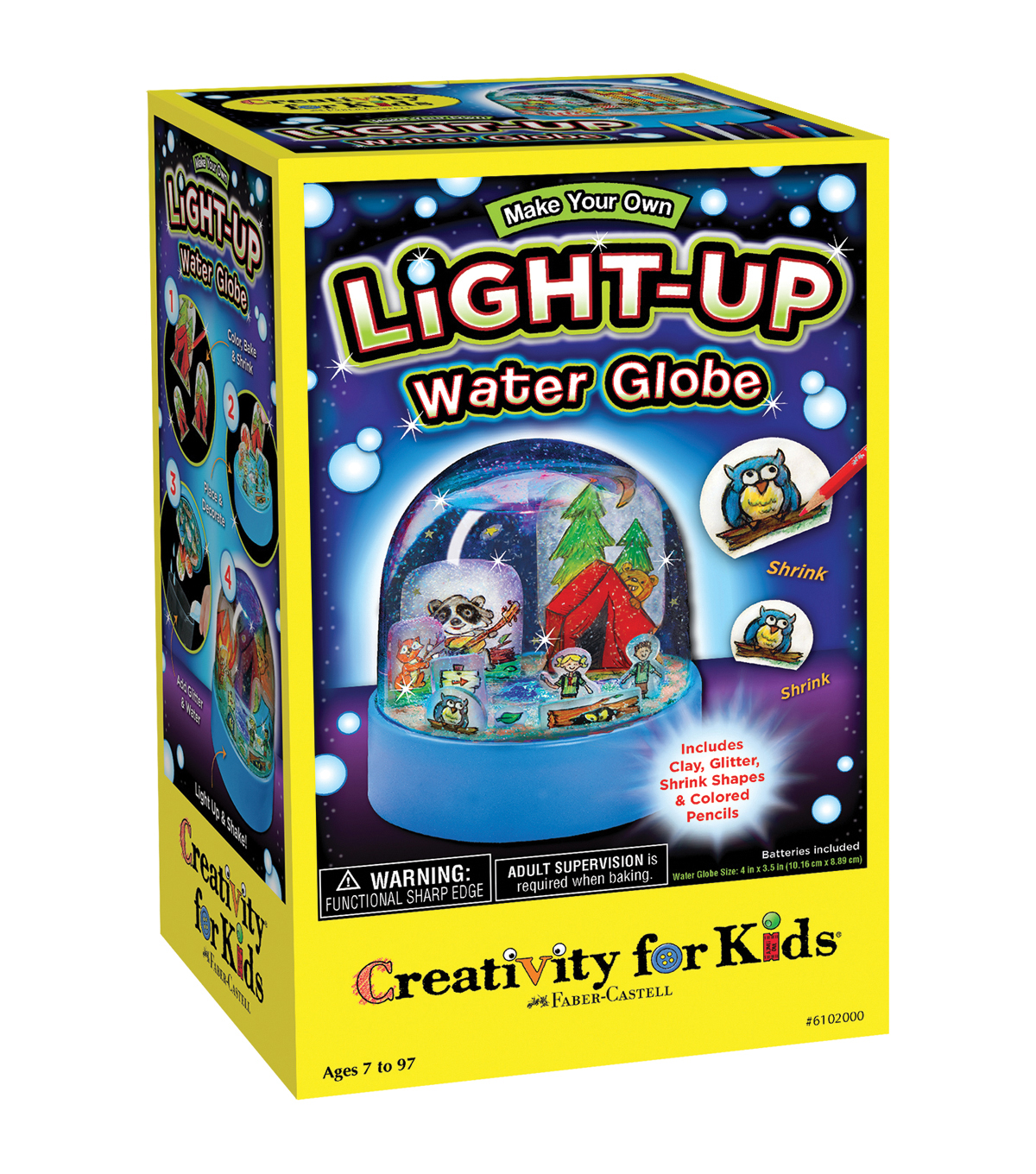 Creativity for Kids® Make Your Own Light-Up Water Globe