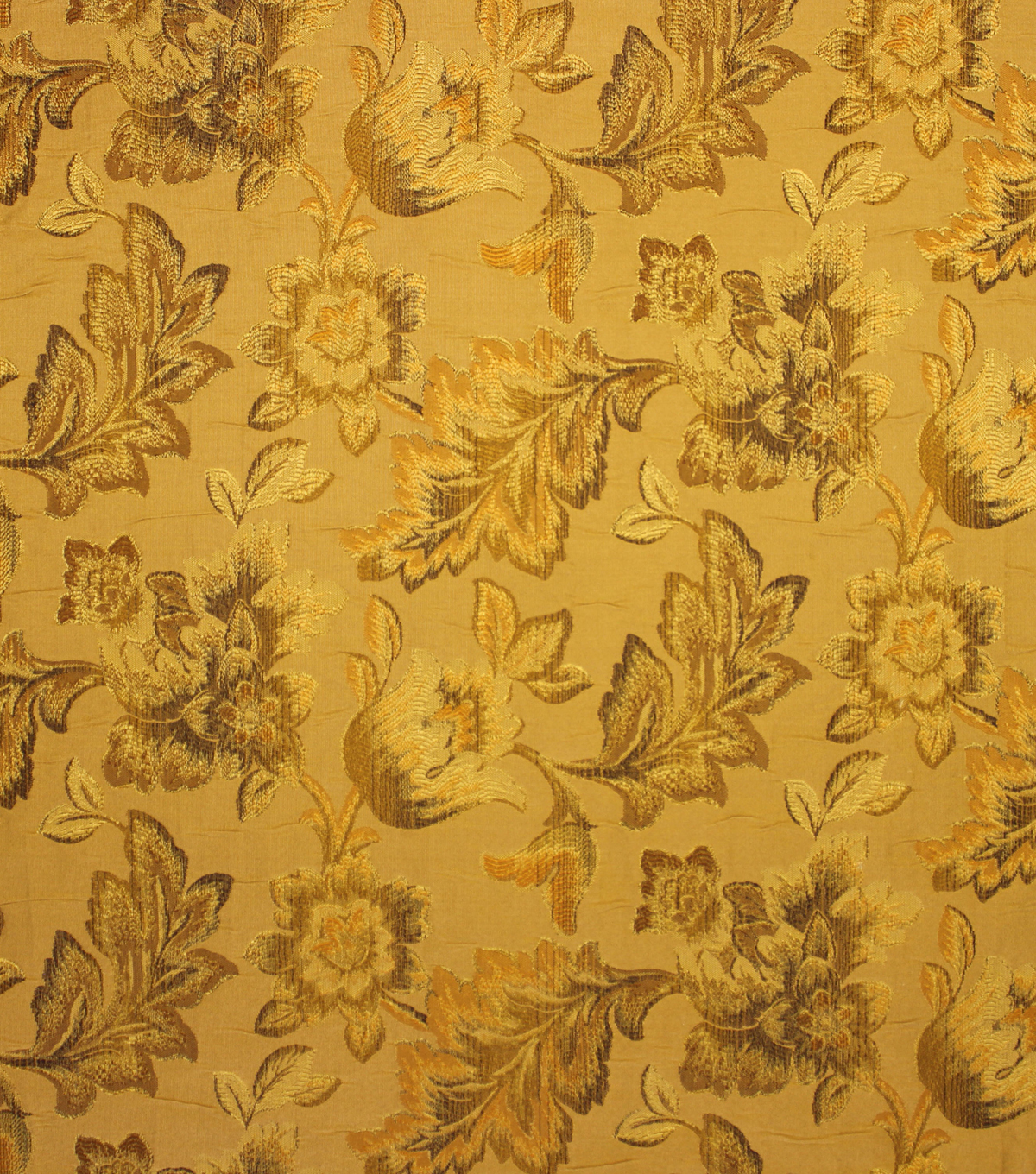 "Home Decor 8""x8"" Fabric Swatch-Upholstery Fabric Barrow M8680-5160 Golden"