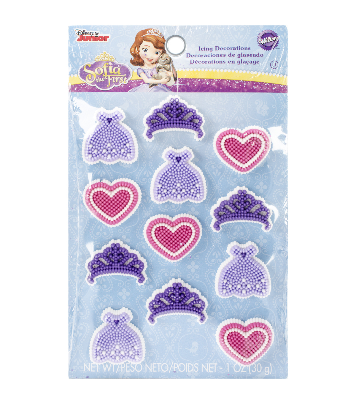 Wilton® Royal Icing Decorations 12/Pkg-Sofia The First