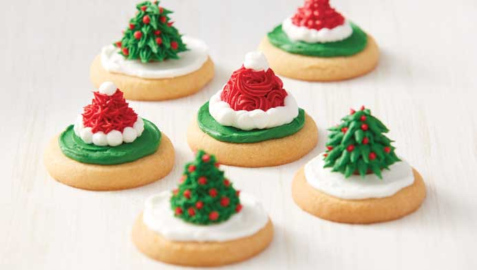 Kids' Christmas Kiss Cookies