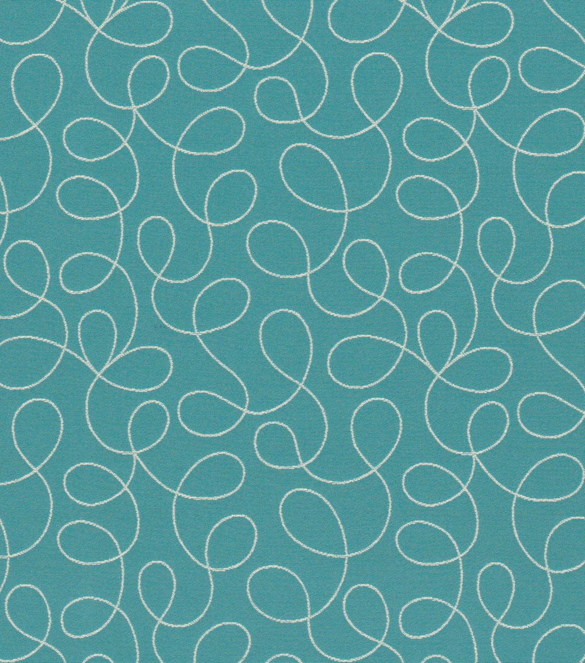 "Home Decor 8""x8"" Fabric Swatch-Loopy Blue"