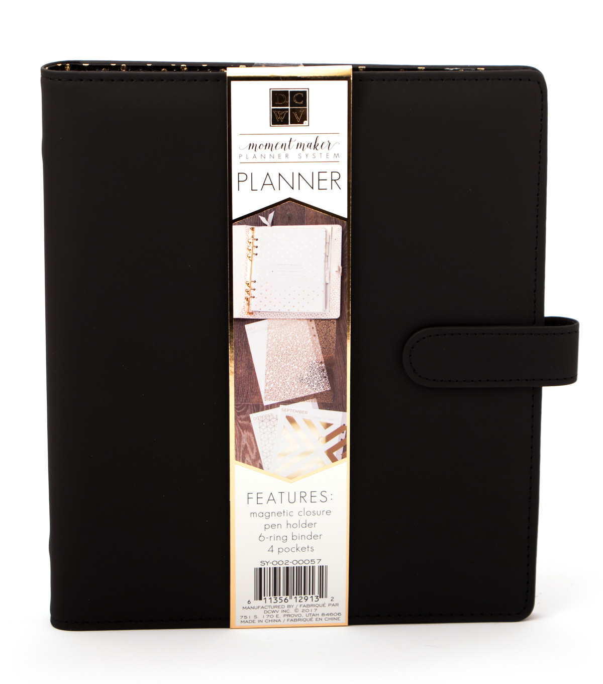 DCWV Moment Maker Planner-Black