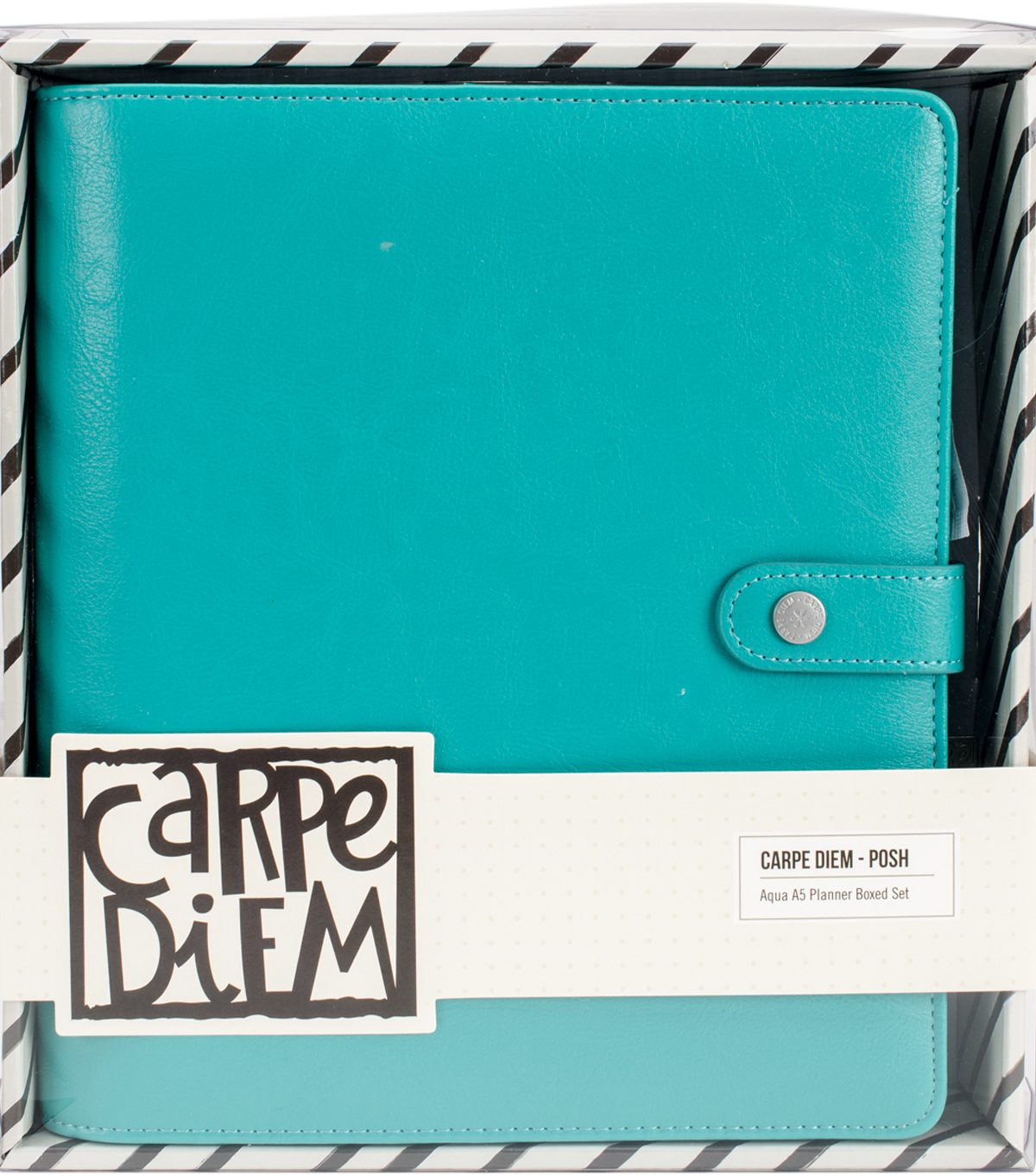 Carpe Diem A5 Planner Boxed Set-Aqua Posh