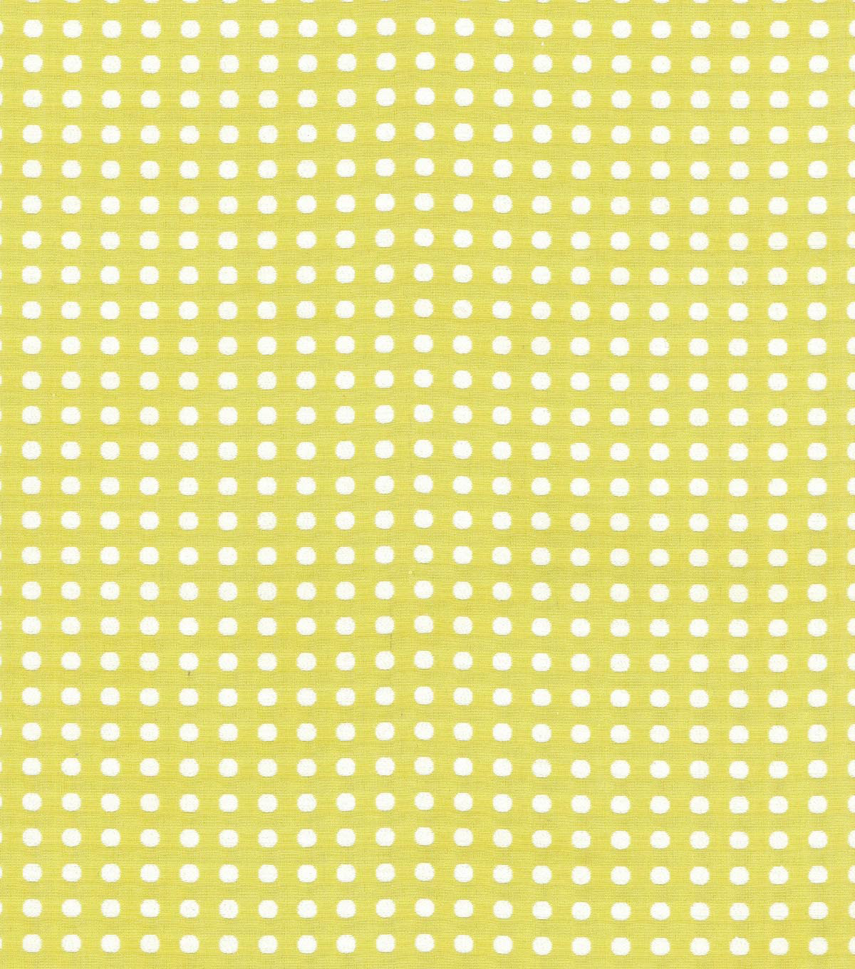 Waverly Upholstery Fabric 56\u0022-Button Up/Citrine