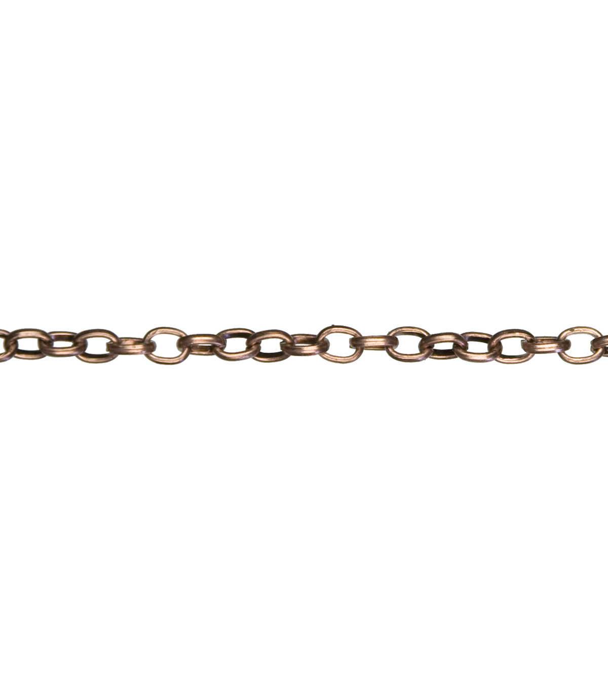 Jewelry Basics Chain-62 Inch Copper Oval Link