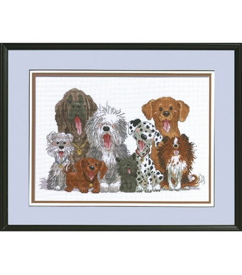 Janlynn Dogs Of Duckport Cntd X-Stitch Kit