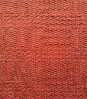 Printed Knit Fabric 57\u0027\u0027-Red Solid Jacquard Texture