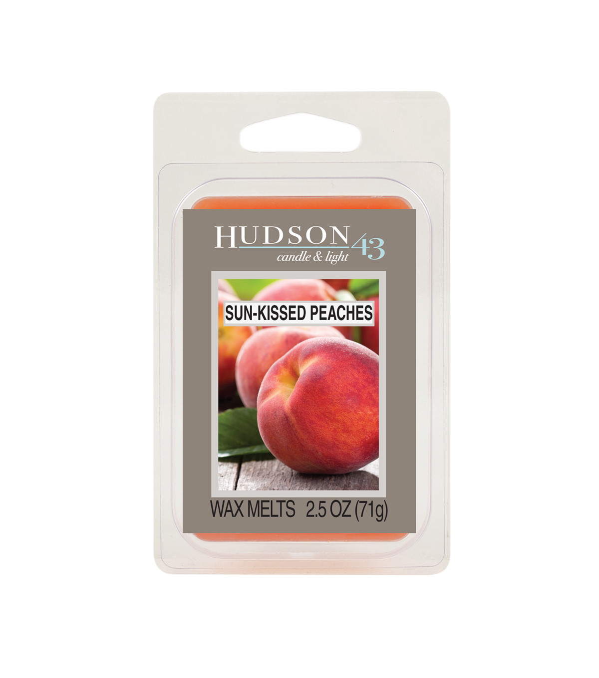Hudson 43™ Candle & Light Collection Wax Melt-Sun Kissed Peaches