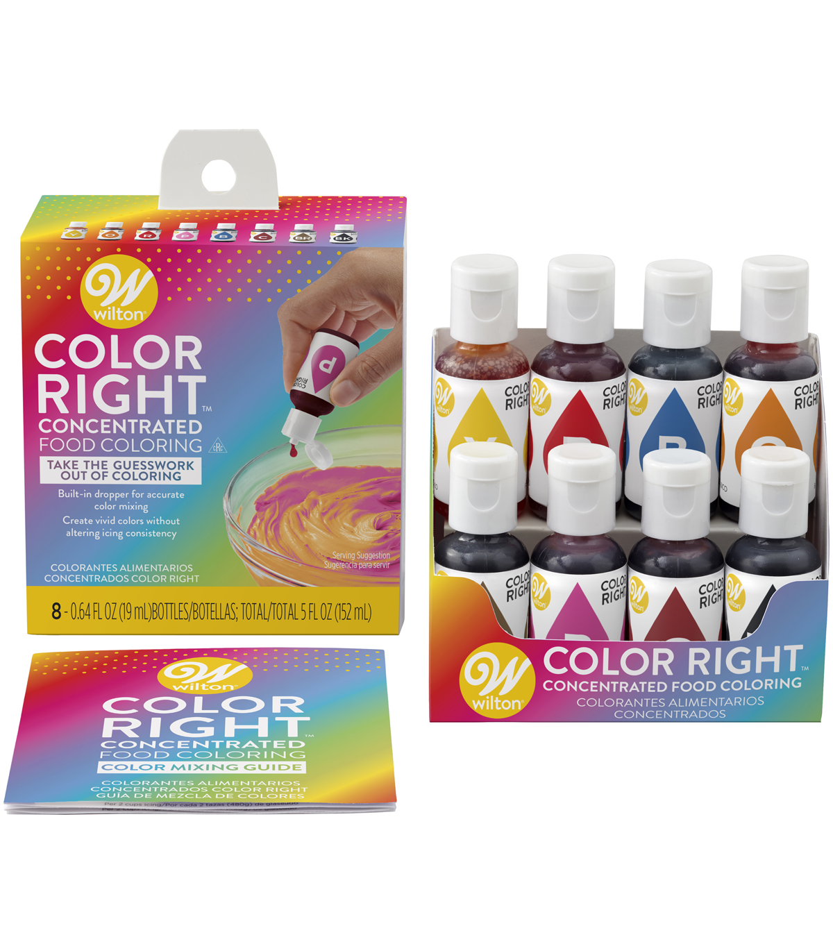 Wilton Color Right Perfect Color System-8/pkg | JOANN