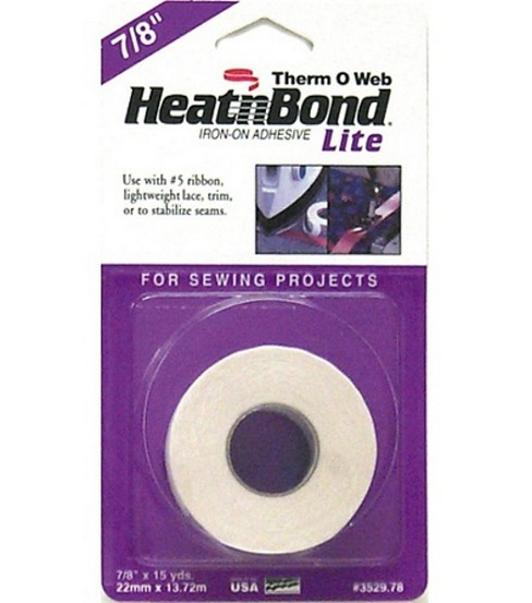 Heat\u0027n Bond Lite Iron-on Adhesive Tape- 15yds