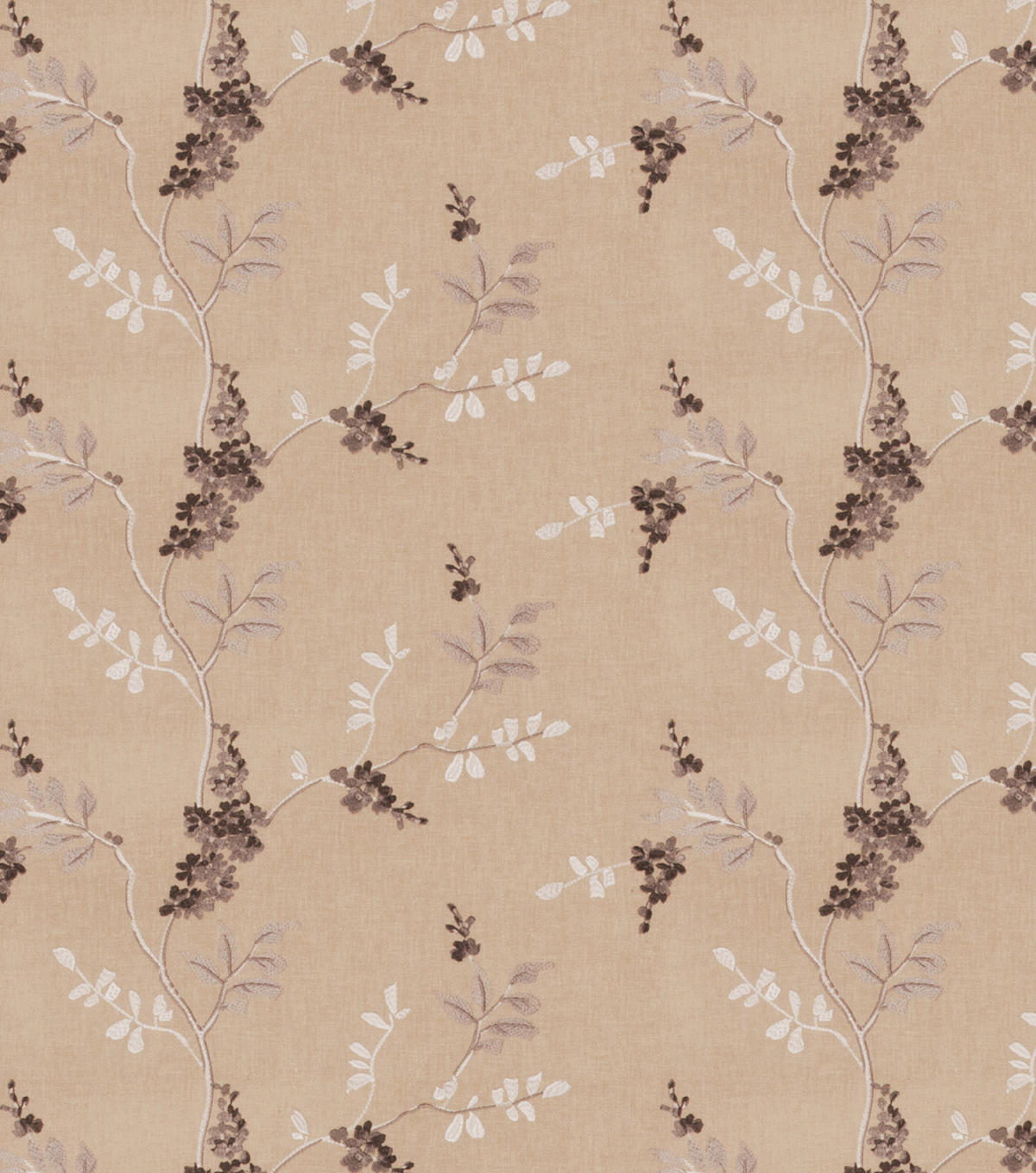 "Eaton Square Print Fabric 51""-Rosehips/Grey"