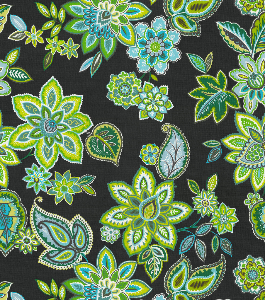 Waverly Charismatic Upholstery Fabric 54\u0022-Peacock