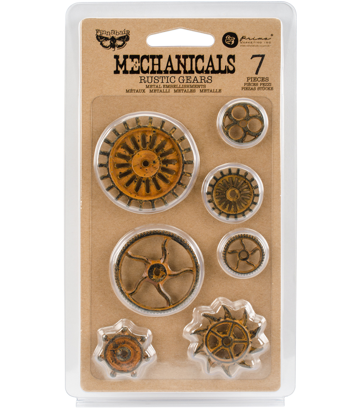 Rust Gears-mechanicals Emblshmt