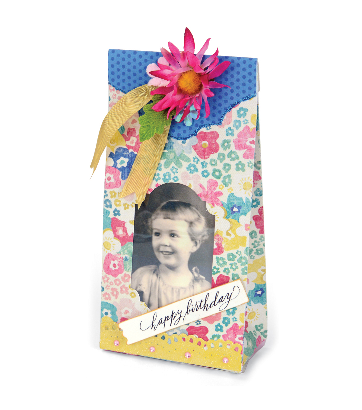 Sizzix® Movers & Shapers™ Brenda Walton L Die-Sweet Treat Bag