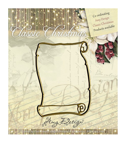 Amy Design Classic Christmas Die-Scroll