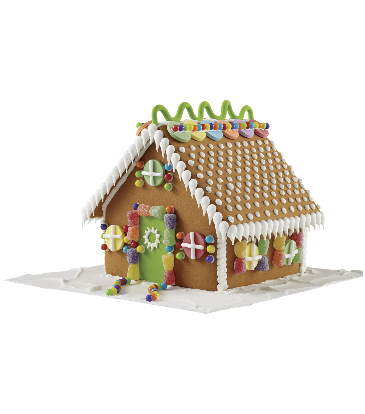 Wilton® Pre-Baked Gingerbread House Decorating Kit