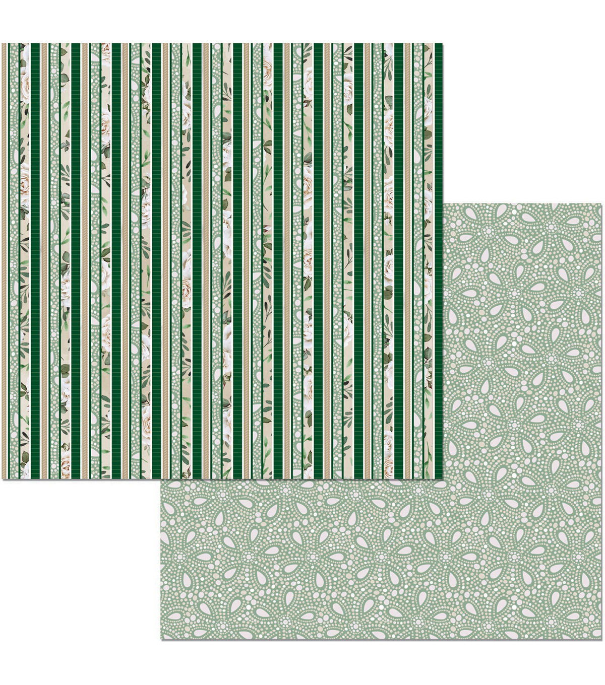 Garden Party Double-Sided Cardstock 12\u0022X12\u0022-Enchanted