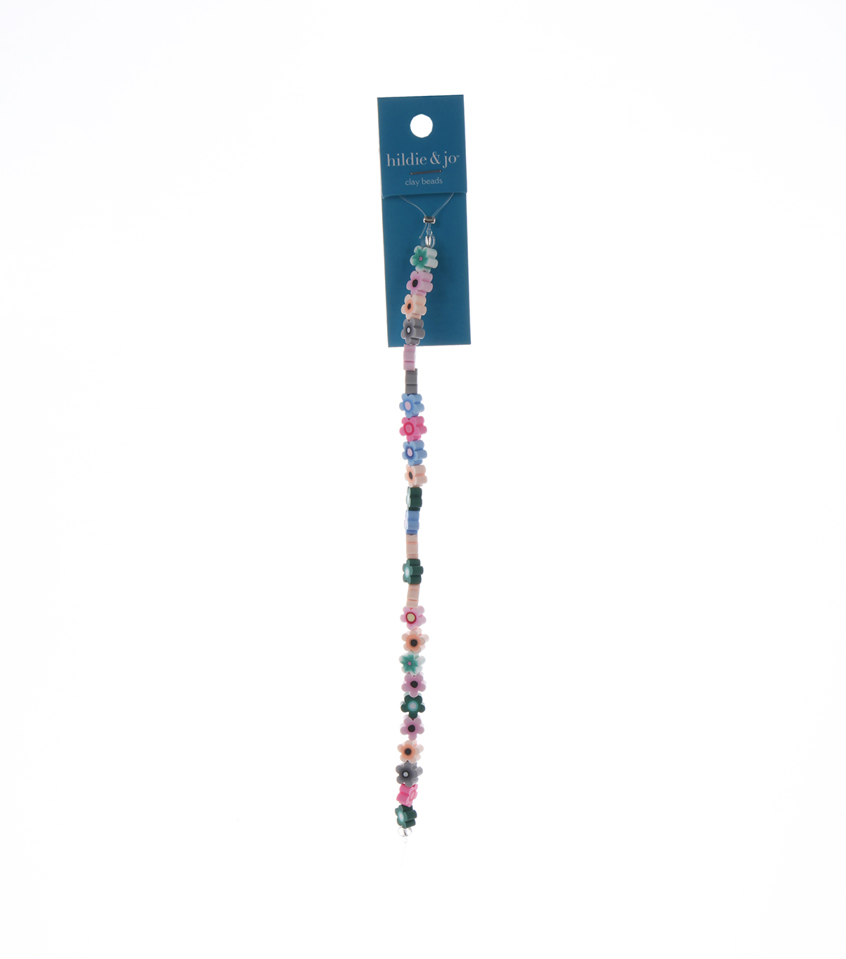 Blue Moon Bead Strands Polymer Clay Flowers