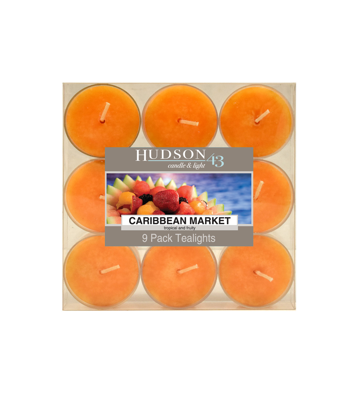 Hudson 43™ Candle & Light Collection 9 Pack Tealights Caribbean Market
