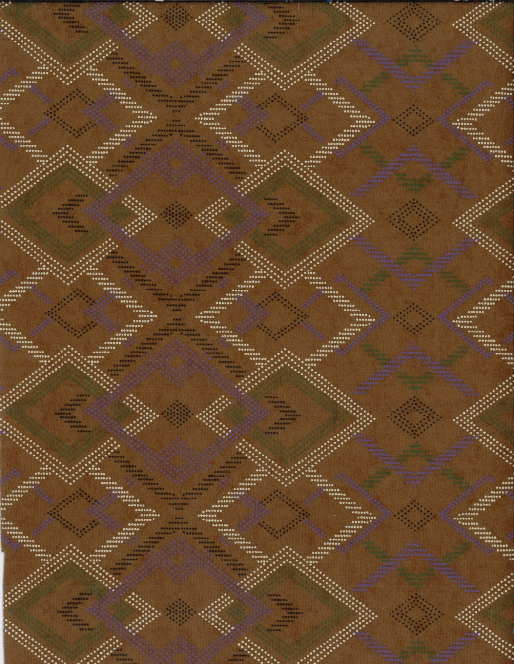 Costume Suedecloth-Aztec Puff Brown Aloba Polyester Fabric