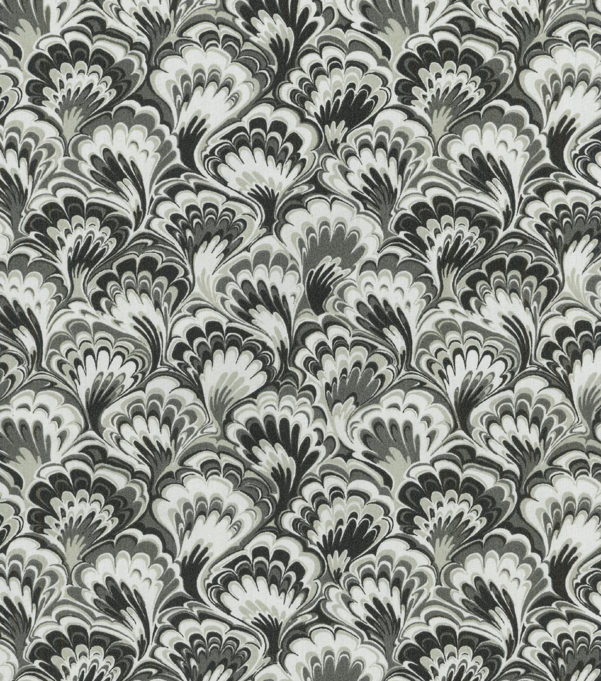 Home Decor 8\u0022x8\u0022 Swatch Fabric-Williamsburg Murray Marble Licorice