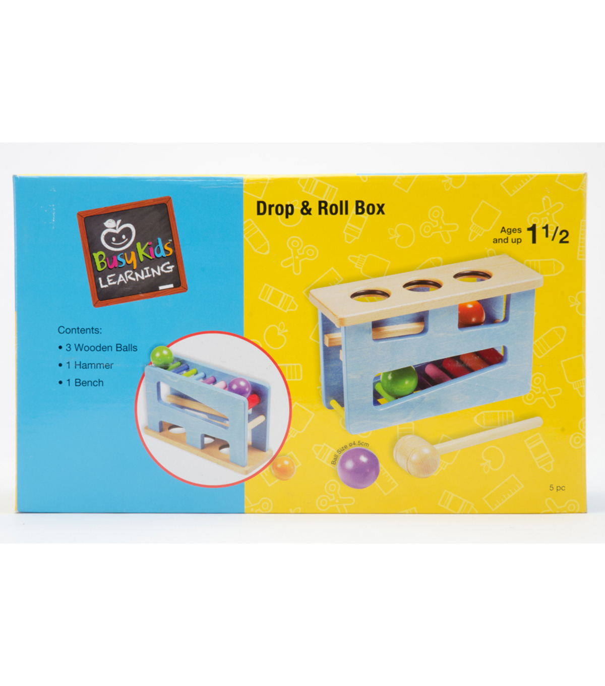 Busy Kids Learning Drop Roll Box
