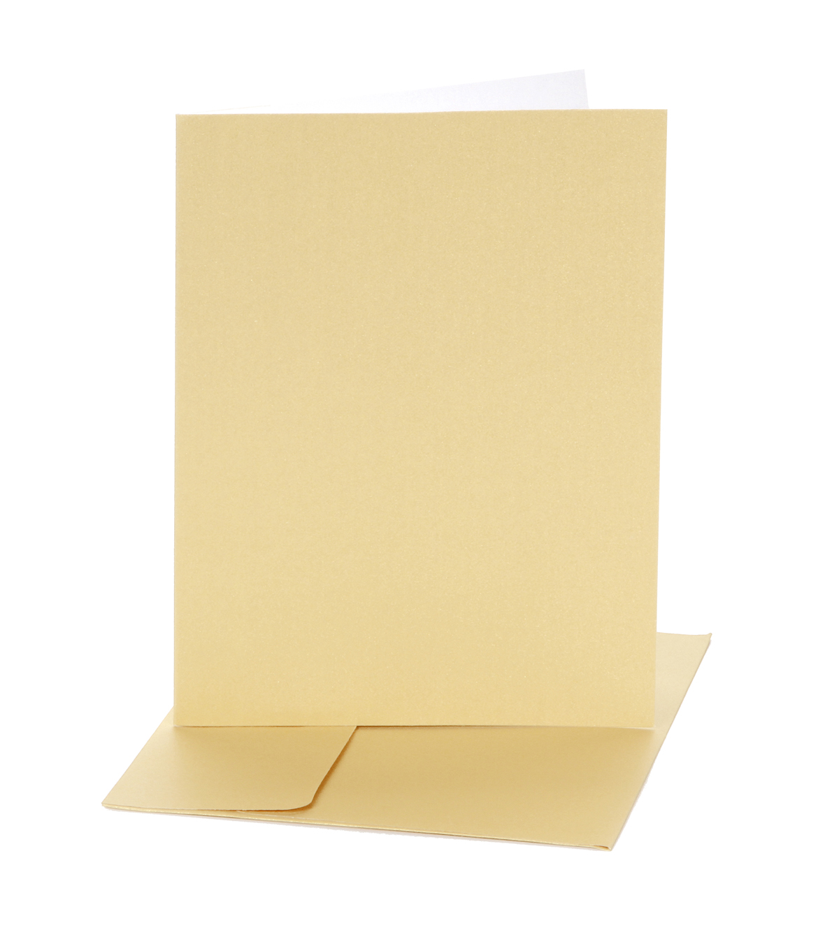 Core\u0027dinations Card/Envelopes:  A7 Champagne Pearl; 25 pack