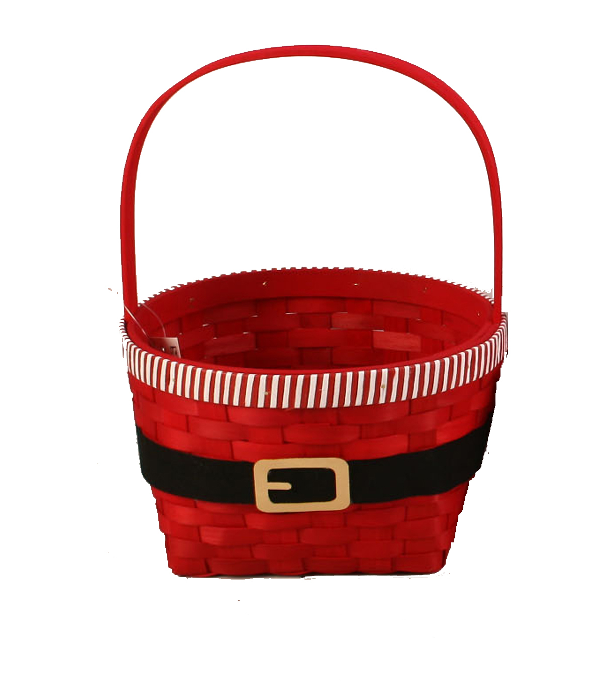 Maker\u0027s Holiday Large Santa Belt Basket