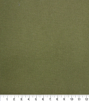 Apparel Knit Fabric-Refined Ponte Solid Olive