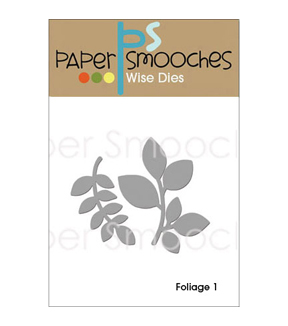Paper Smooches Wise Die-Foliage 1
