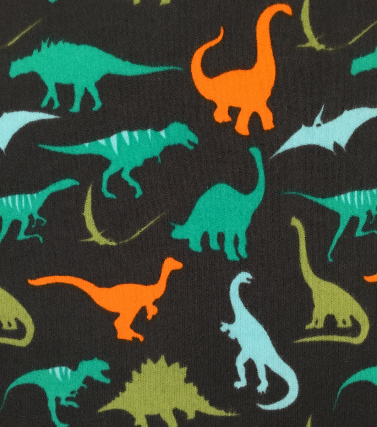 Doodles Juvenile Apparel Fabric 57\u0022-Dino Rock Interlock