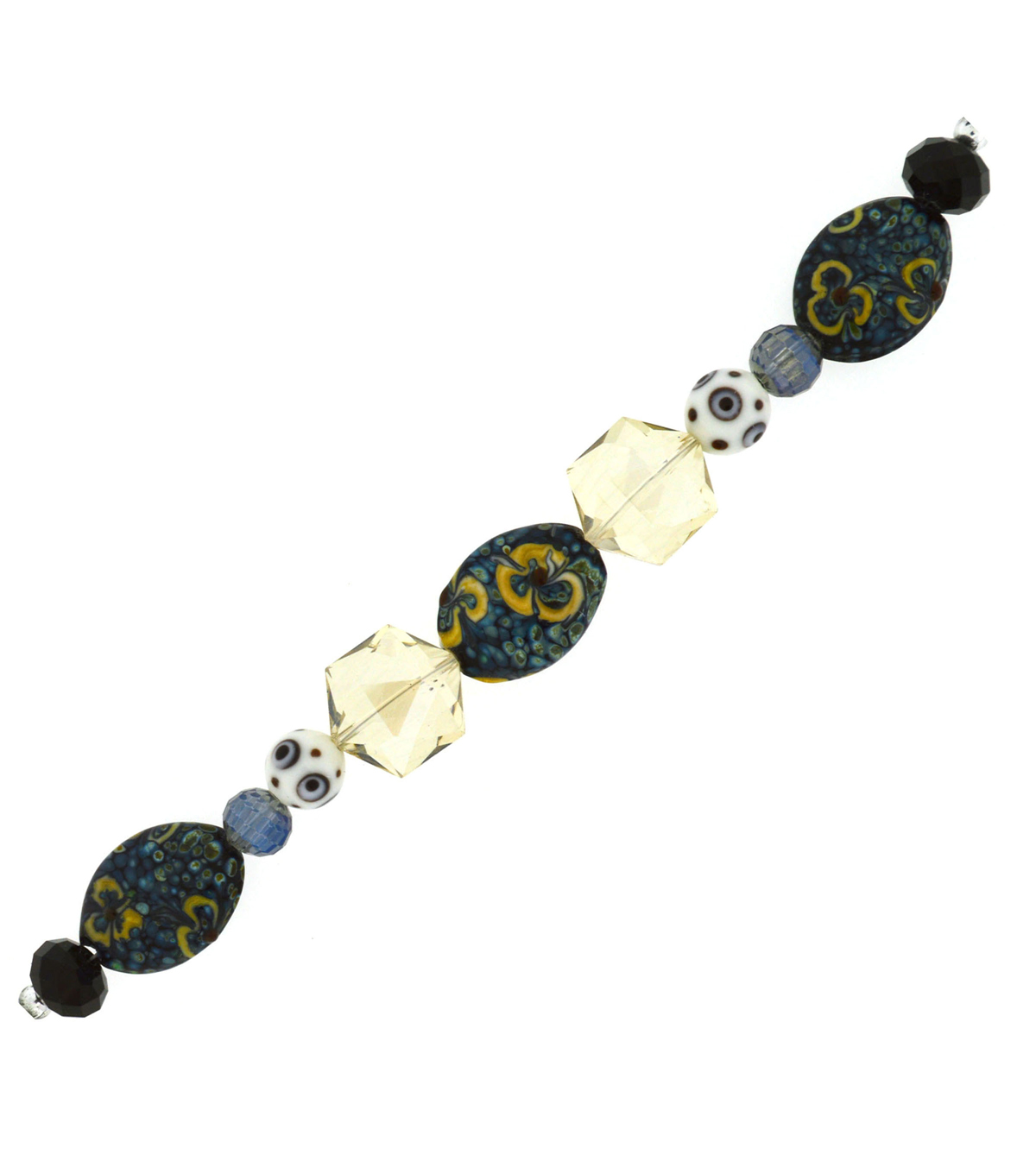 7 Inch Lampwork Strands By Jesse James