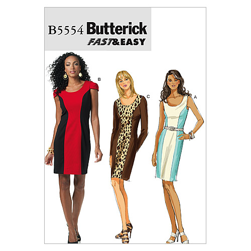 Mccall Pattern B5554 Bb (8-10-1-Butterick Pattern