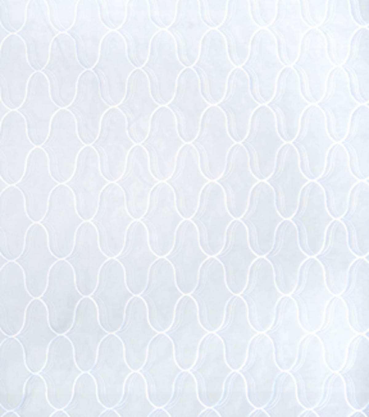 "Home Decor 8""x8"" Fabric Swatch-Eaton Square Diego   White"