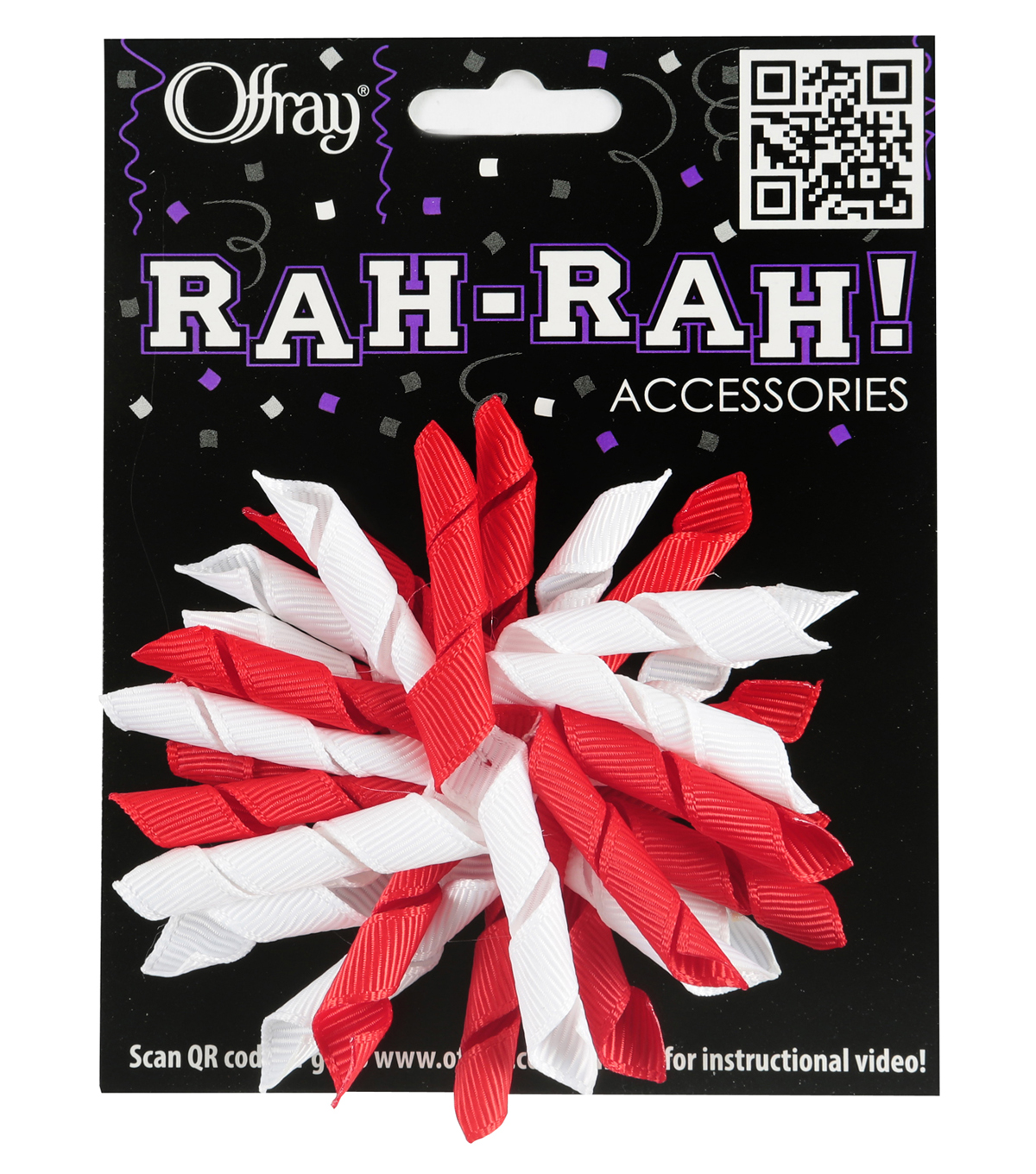 Rah Rah Korker Bows Red Ribbon