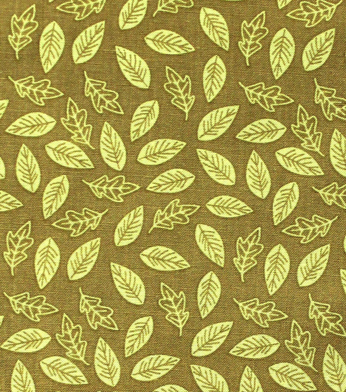 Premium Quilt Arcadia Cotton Fabric 44''-Green Leaf