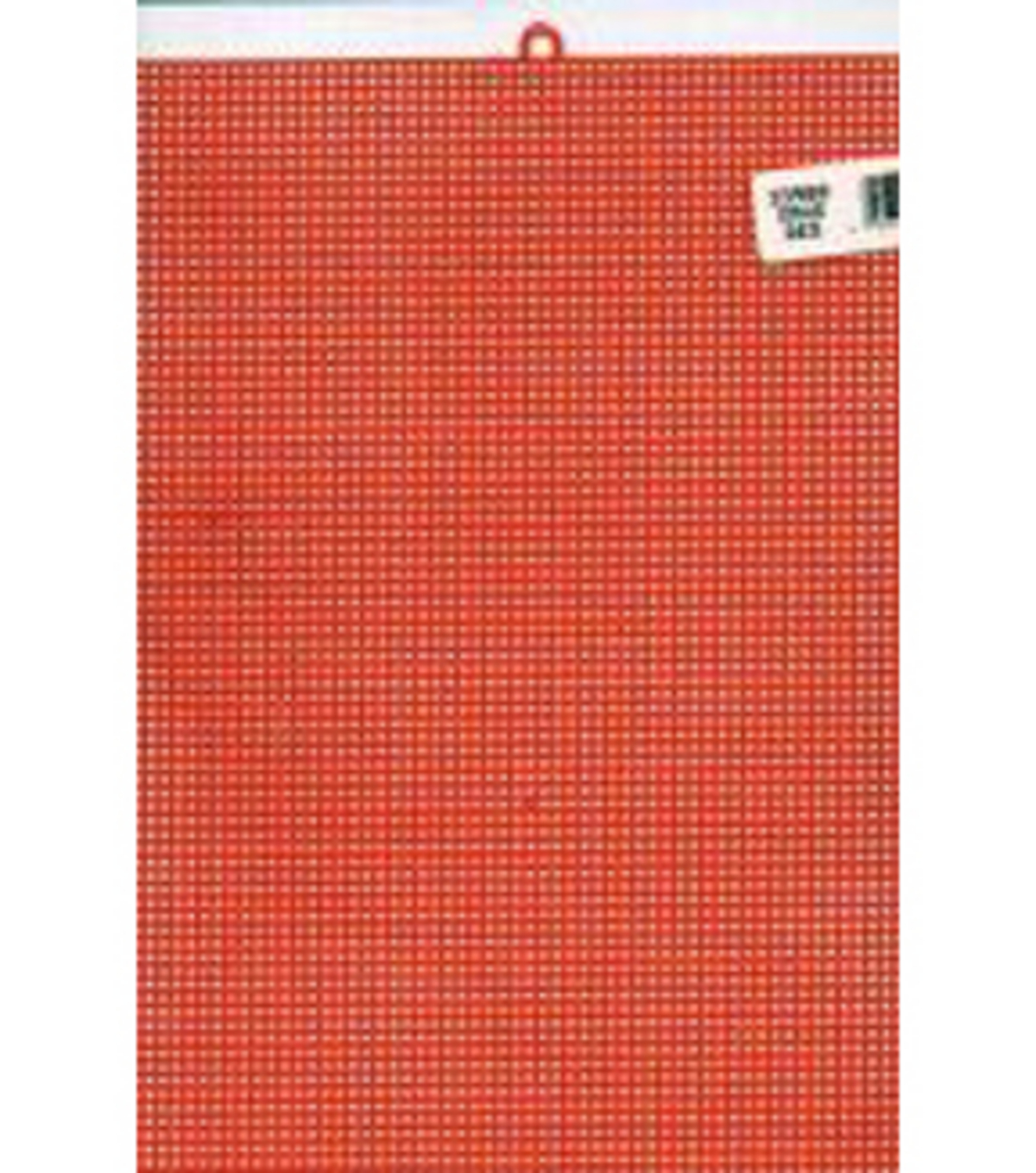 Plastic Canvas 7 Count 10\u0022X13\u0022-Christmas Red
