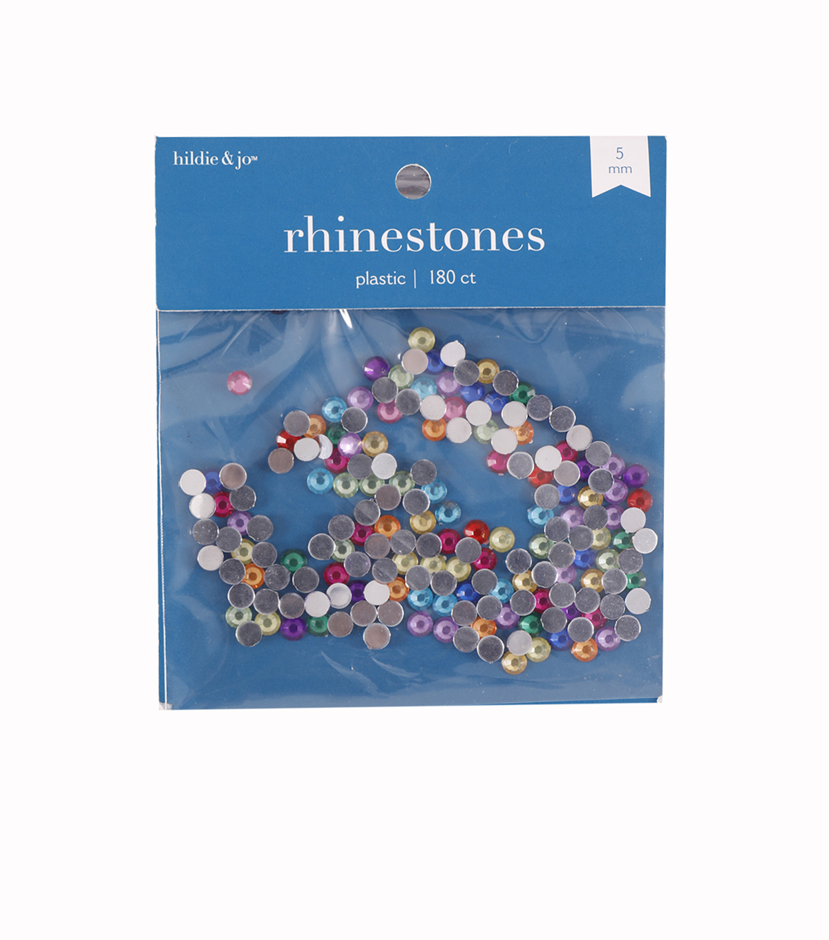 Darice Big Value! 5mm Rhinestones-180PK/Multi