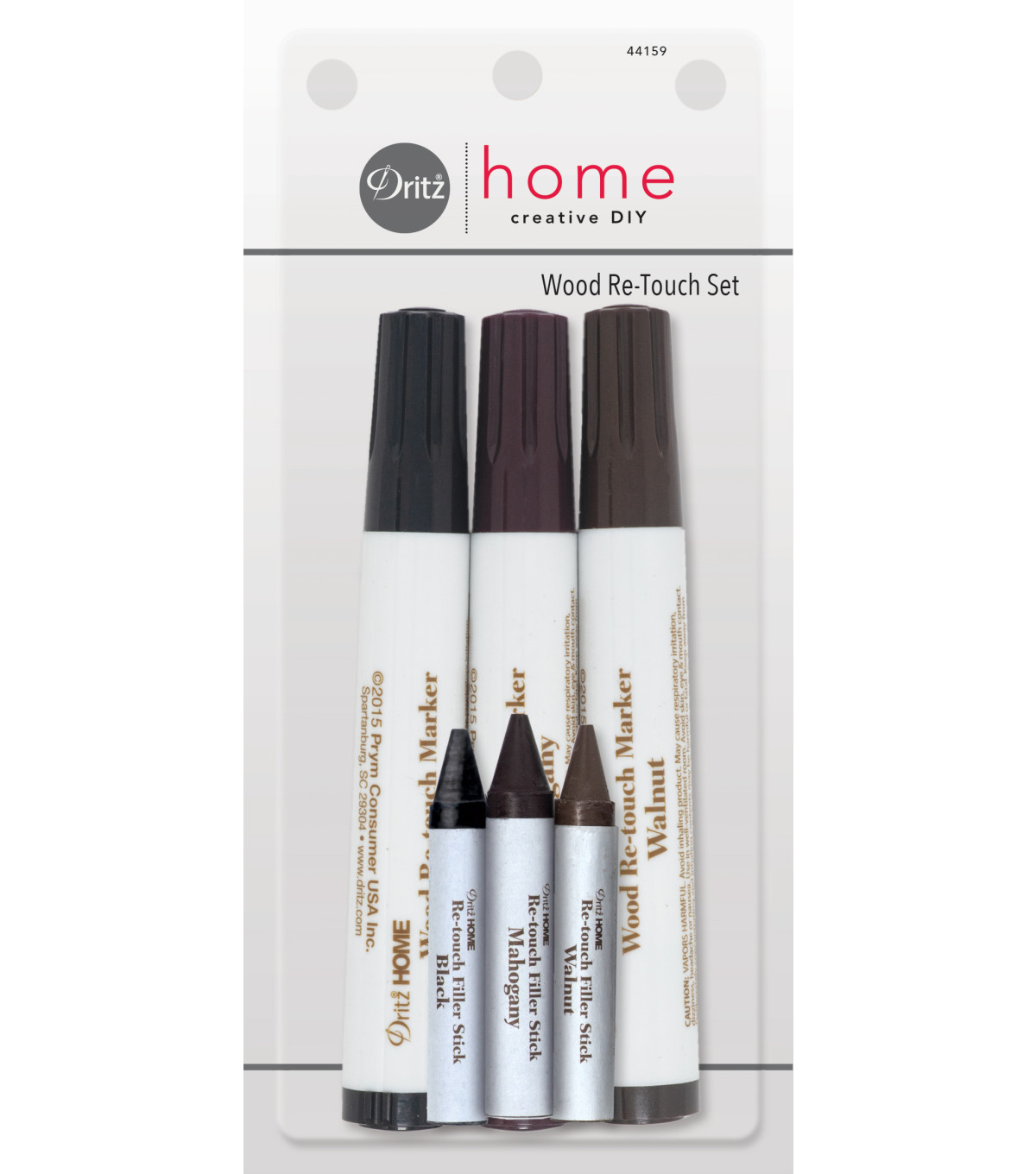 Dritz Home Wood Re-Touch Set Dark